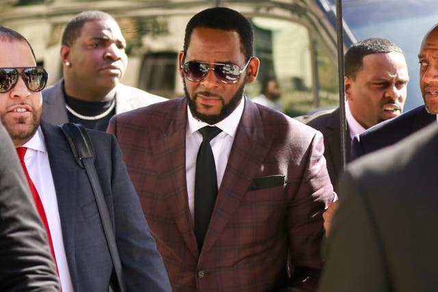 R Kelly's lawyer says the rapper completely denies any involvement