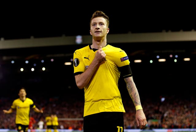 Marco Reus' late header saw Borussia Dormund seal a point.