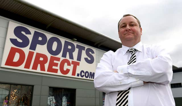 Sports Direct parliamentary probe