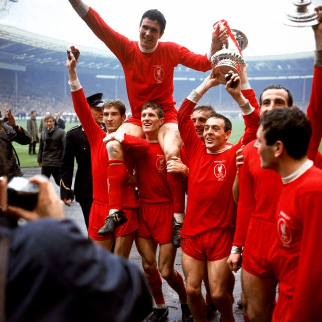Soccer – FA Cup Final – Leeds United v Liverpool – Wembley Stadium
