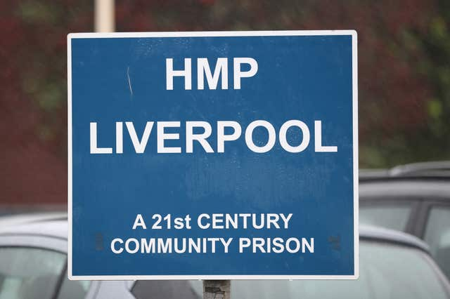 Inspectors published a highly critical report on HMP Liverpool (Peter Byrne/PA)