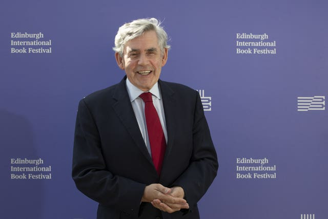 Gordon Brown (Jane Barlow/PA)