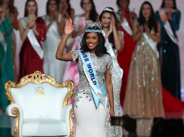 Toni-Ann Singh was crowned the winne