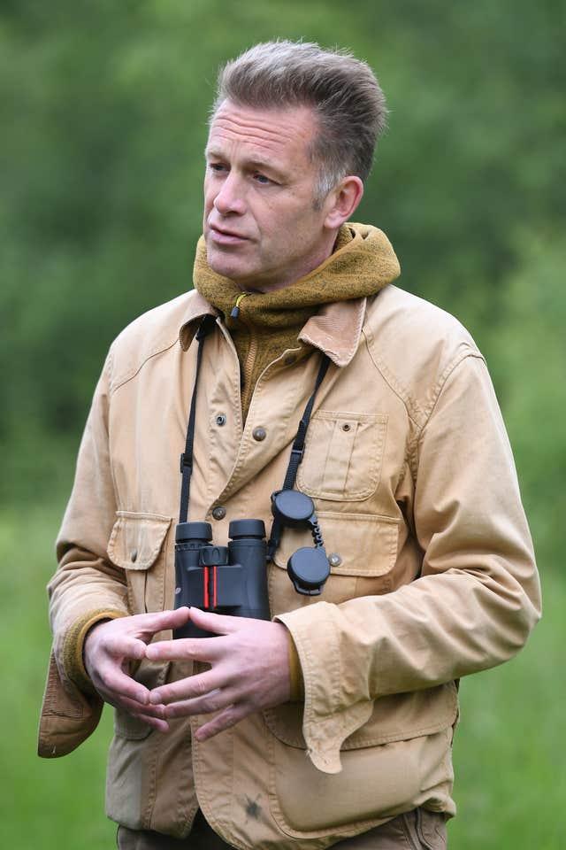 TV presenter and naturalist Chris Packham