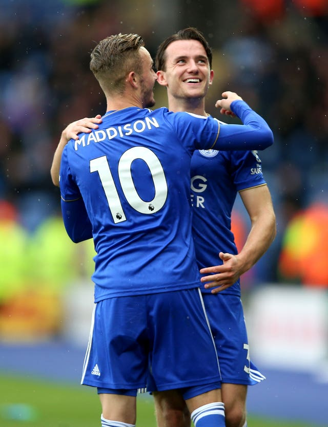 James Maddison and Ben Chilwell