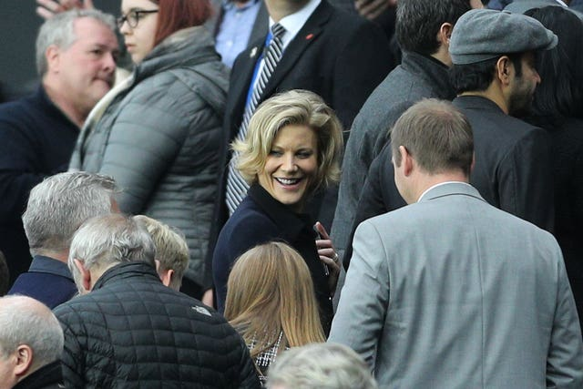 Amanda Staveley's previous bid for Newcastle two years ago collapsed (Owen Humphreys/PA)