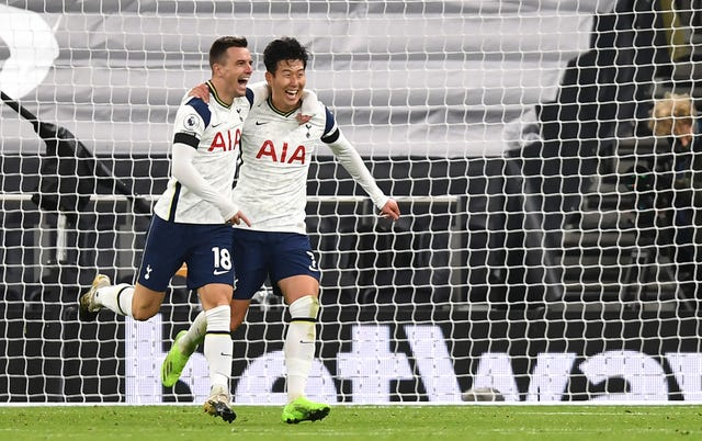 Giovanni Lo Celso and Son Heung-min were Tottenham's goalscorers