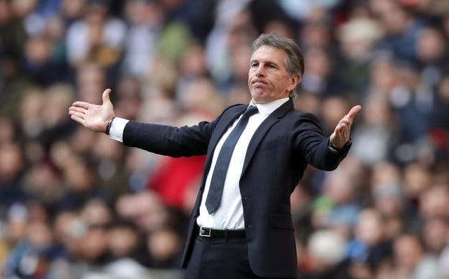 Leicester sacked manager Claude Puel on Sunday and are holding talks with Brendan Rodgers.
