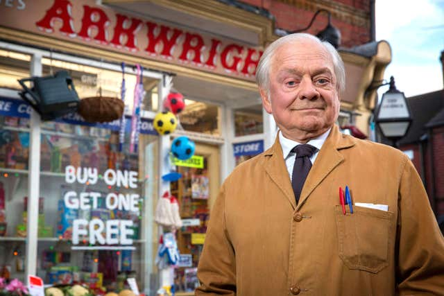 David Jason in Still Open All Hours (PA)