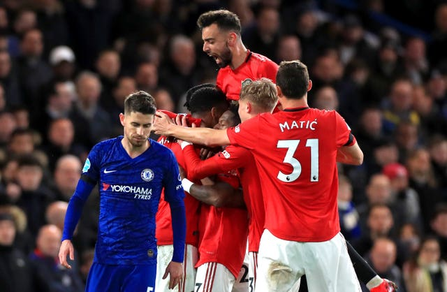 Chelsea v Manchester United – Premier League – Stamford Bridge
