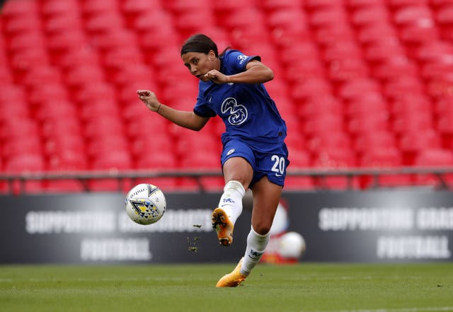 Chelsea Women v Manchester City Women – Women's Community Shield – Wembley Stadium