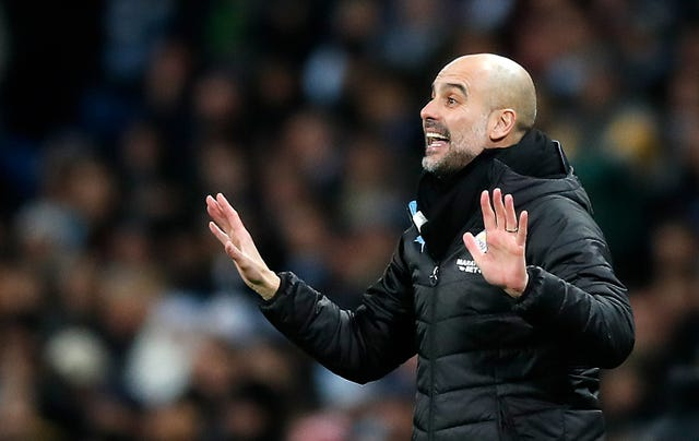 Pep Guardiola has been in charge at Manchester City since 2016