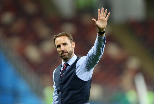 Gareth Southgate is already looking ahead