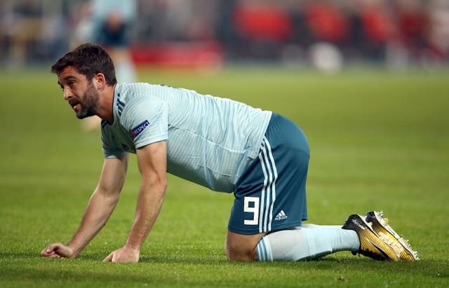 Will Grigg's last appearance for Northern Ireland came in a 1-0 Nations League defeat to Austria in October