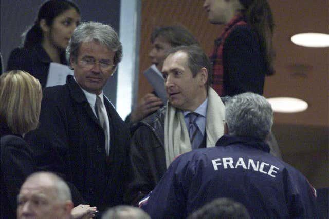 France v Scotland / Liverpool manager Gerard Houllier