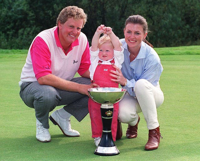 Colin Montgomerie won the English Open in 1994