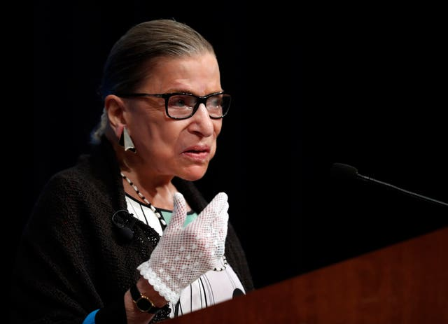 Supreme Court Ginsburg Style