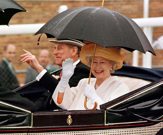 Horse Racing – The Queen and Duke of Edinburgh Arrive at Royal Ascot