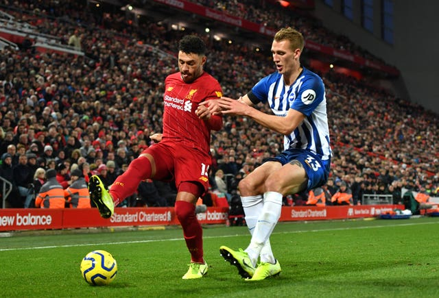 Liverpool made it 40 points from a possible 42 this season with their win over Brighton