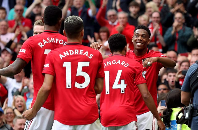 United thrashed Chelsea on the opening day