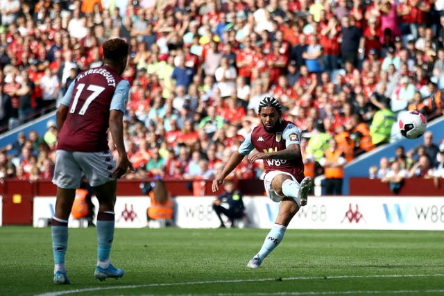Douglas Luiz scored a superb goal for Aston Villa but they fell to a 2-1 defeat at home to Bournemouth