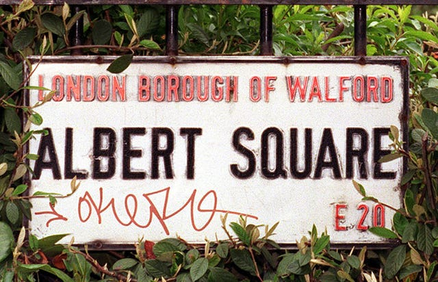 Albert Square set rebuild
