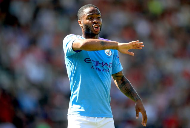Raheem Sterling spoke out in defence of Bernardo Silva