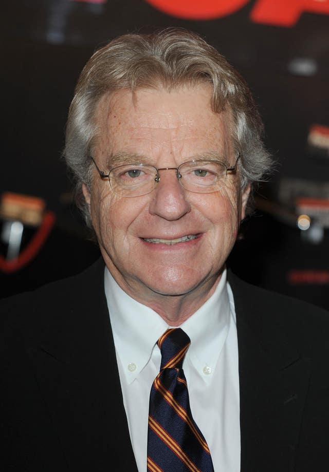 Jerry Springer Chicago Photocall – London