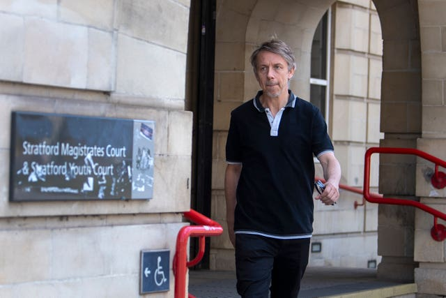 Gilles Peterson at Stratford Magistrates' Court