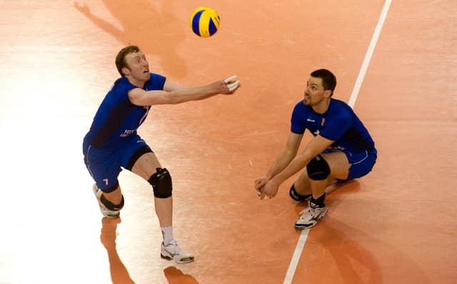 Russia was able to host some live volleyball action on Tuesday
