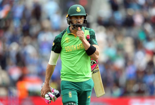 Faf Du Plessis knows it is nigh-on impossible for South Africa to qualify