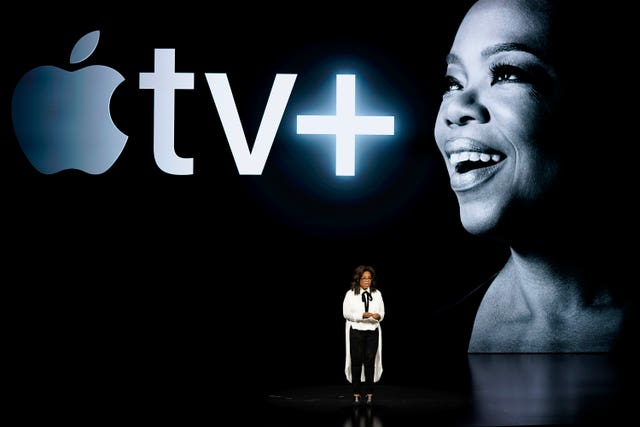 Oprah Winfrey at the Apple event