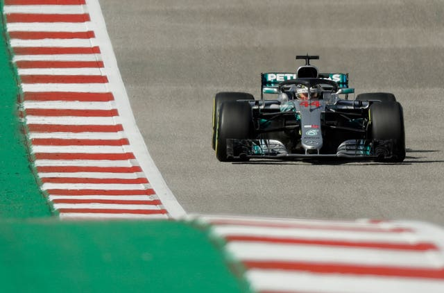 Lewis Hamilton had to settle for third in Austin