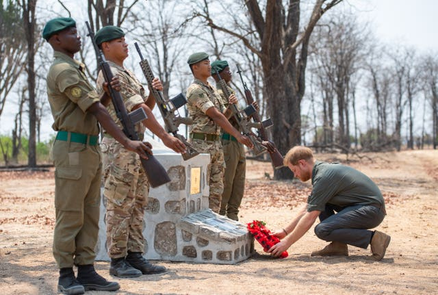 Royal visit to Africa – Day Eight