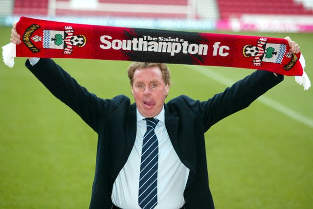 Redknapp was Southampton boss for a year between stints with Portsmouth (Chris Ison/PA).