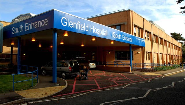 The Glenfield Hospital in Leicester