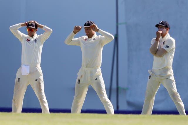 England's slips have been poor