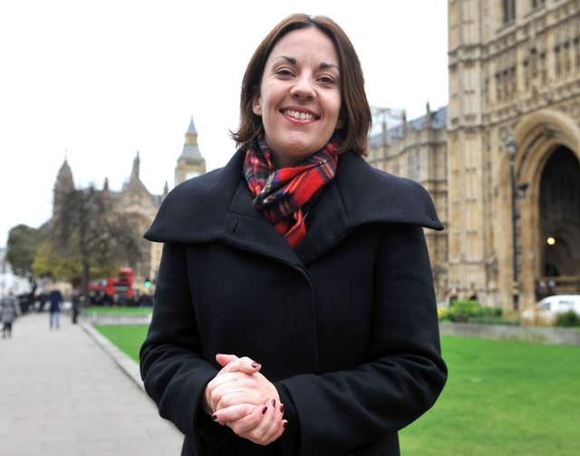 Former Scottish Labour leader Kezia Dugdale revealed she received three death threats in six years (Nick Ansell/PA)