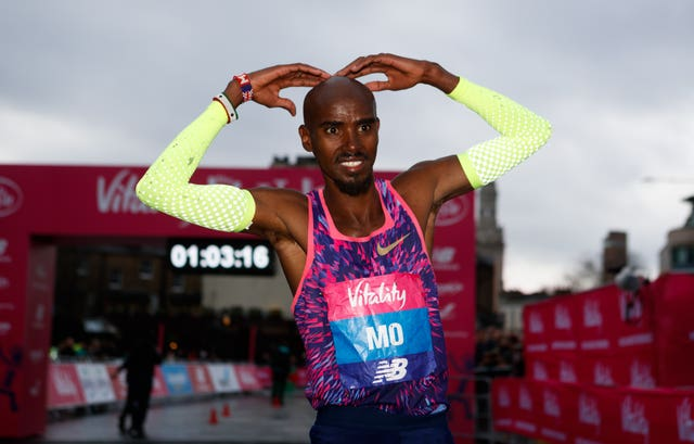 Farah is looking to win the London Marathon on April 22 (John Walton/PA)