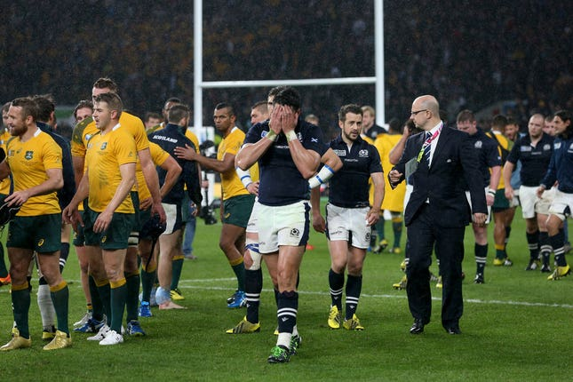 Scotland were denied a semi-final spot four years ago by a poor decision by referee Craig Joubert against Australia