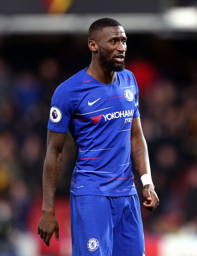 Antonio Rudiger has been sidelined following knee surgery