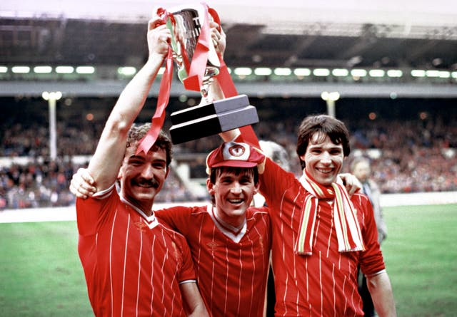 Liverpool beat Manchester United in 1983 to make it three League Cup wins in a row