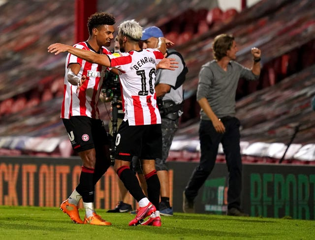 Ollie Watkins, left, and Said Benrahma have been key performers for Brentford