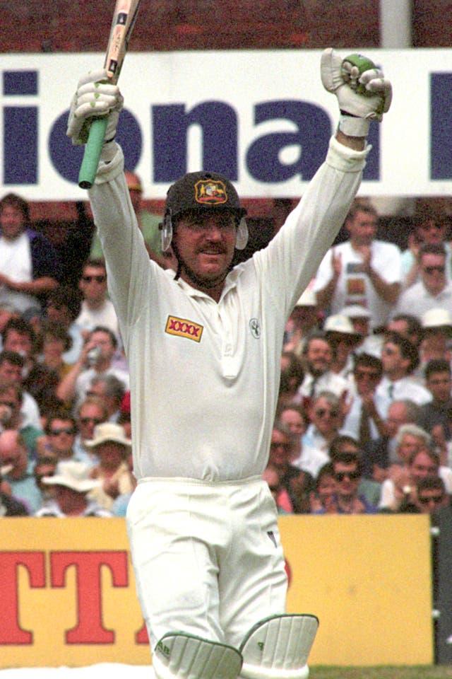 Allan Border struck an unbeaten 200 as Australia won by an innings and 148 runs at Headingley in 199