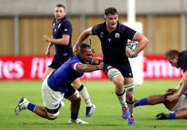 Jamie Ritchie took his chance during Scotland's win over Samoa after John Barclay was dropped in the wake of the Ireland defeat.