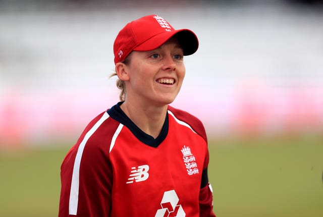 England's captain Heather Knight will play for London Spirit in the Hundred