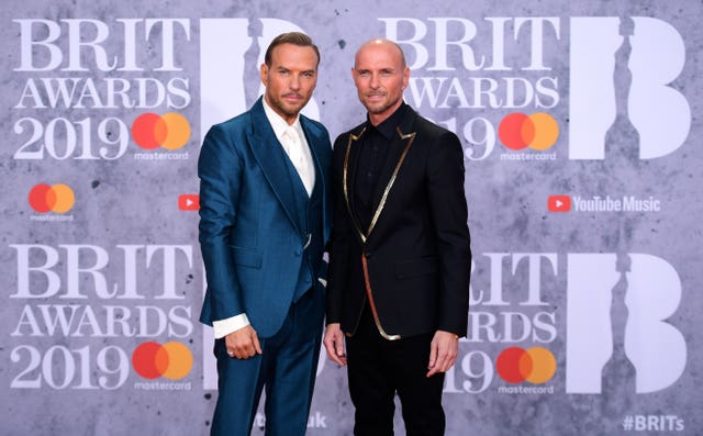 Bros at the Brits