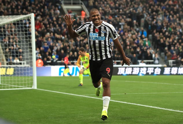 Striker Salomon Rondon shone for Newcastle during a season-long loan spell