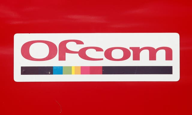 General view of an Ofcom logo