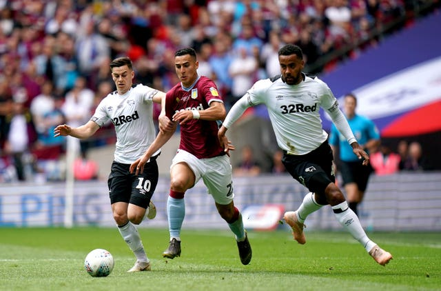 El Ghazi played a key role for Villa in the play-off final